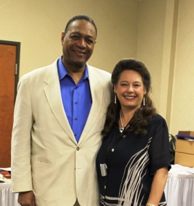 Dr. Irina and Clarence Robins