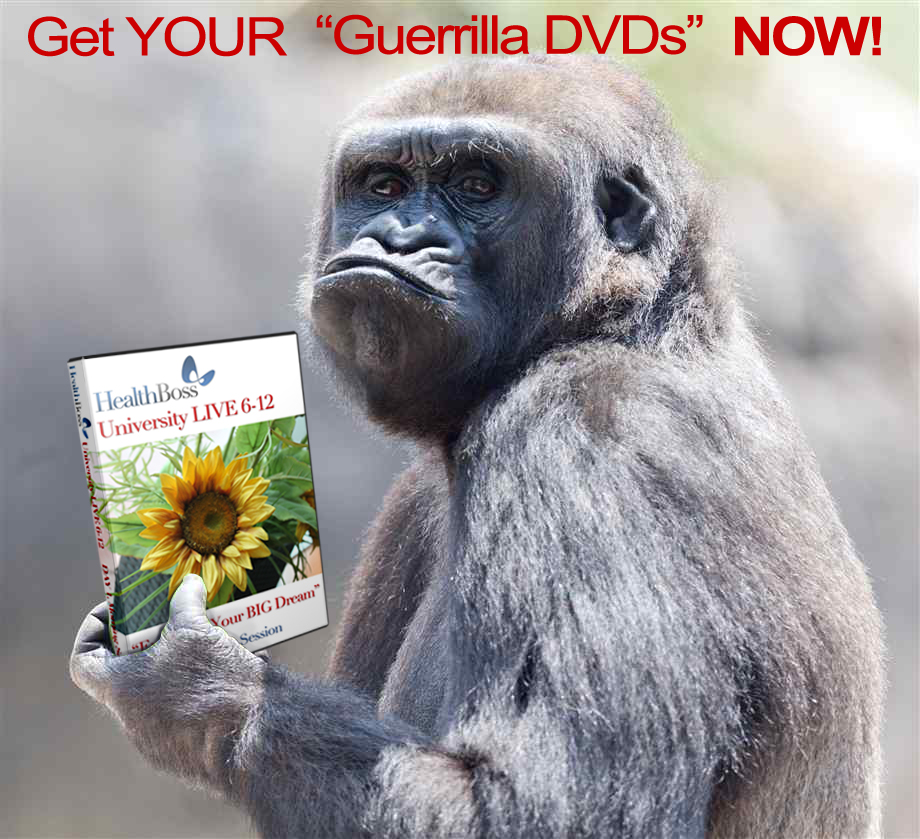 Get Your Guerrilla DVDs Now
