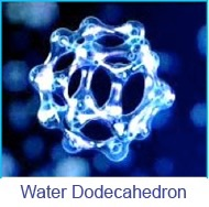 water dodecadron